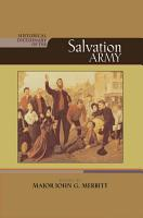 Historical Dictionary of The Salvation Army PDF
