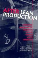 After Lean Production PDF