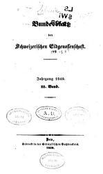 Bundesblatt der Schweizerischen eidgenossenschaft PDF