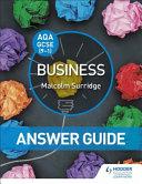 AQA GCSE (9-1) Business Answer Guide