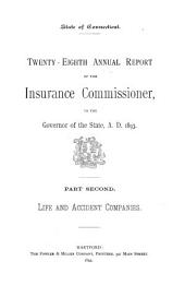 Annual Report of the Insurance Commissioner: Volume 28, Part 2; Volume 29, Part 1
