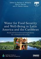 Water for Food Security and Well being in Latin America and the Caribbean PDF