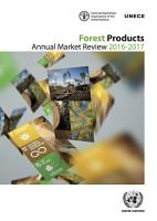 Forest Products Annual Market Review 2016 2017 PDF