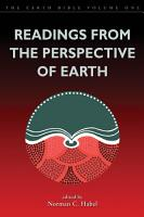 Readings from the Perspective of Earth PDF