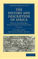 The History and Description of Africa PDF
