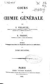 Cours de chimie générale: Volume2