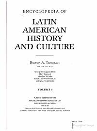 Encyclopedia of Latin American History and Culture  Gabeira to Mesta PDF