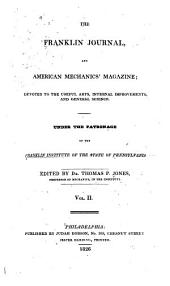 Journal of the Franklin Institute: Volume 2