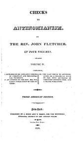 Checks to Antinomianism: Volume 4