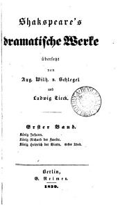 Shakspeare's dramstische Werke, uebers, von A.W. von Schlegel, ergänzt und erläutert von L. Tiëck