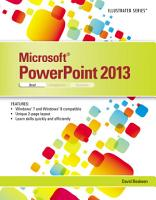 Microsoft PowerPoint 2013  Illustrated Brief PDF