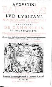 Tractatus de canonicis et dignitatibus