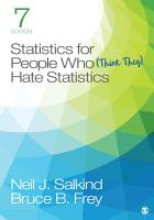 Statistics for People Who  Think They  Hate Statistics PDF