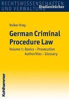 German Criminal Procedure Law PDF