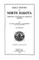 favorite texts Early history of North Dakota  essential outlines of American history PDF