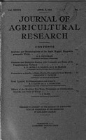 Journal of Agricultural Research PDF