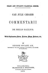 Caii Julii Caesaris Commentarii de Bello Gallico