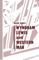 Wyndham Lewis and Western Man PDF