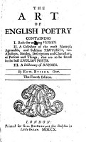 The Art of English Poetry PDF