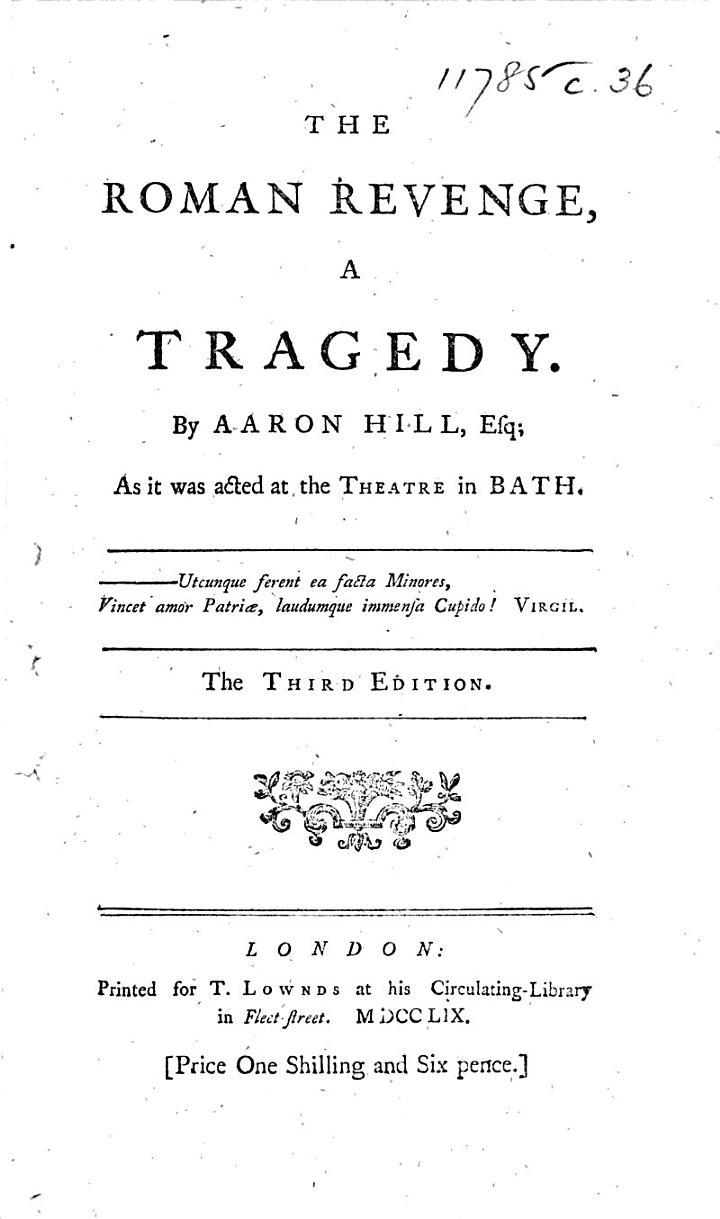 The Roman Revenge ... The Third Edition