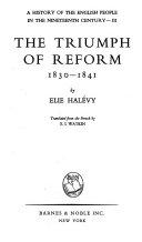 The triumph of reform  1830 1841 PDF