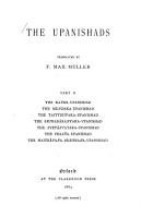 The Sacred Books of the East PDF