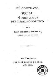 El Contrato social, ó, Principios del derecho político