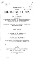A Treatise on the Law of Collisions at Sea PDF