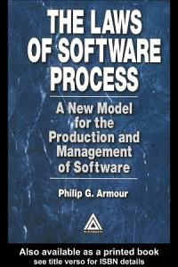The Laws of Software Process PDF