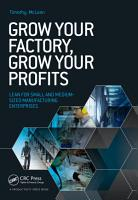 Grow Your Factory  Grow Your Profits PDF