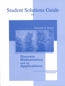 Student Solutions Guide for Discrete Mathematics and Its Applications PDF