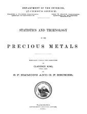 Statistics and Technology of the Precious Metals: Volume 880