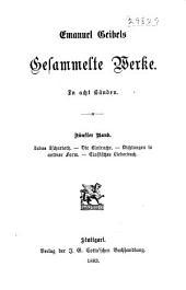 Gesammelte Werke: Bände 5-6