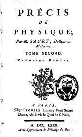 Précis de physique: Volume2