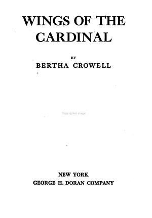 Wings of the Cardinal