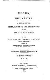 Zenon, the martyr: Volume 2