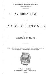 American Gems and Precious Stones