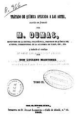 Tratado de química aplicada a las artes: Volumen 9