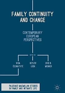 Family Continuity and Change PDF