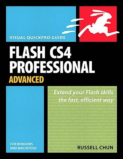 Flash CS4 Professional Advanced for Windows and Macintosh PDF