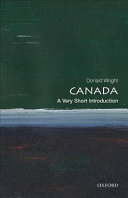 Canada  a Very Short Introduction PDF