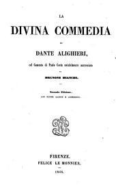 La divina commedia di Dante Alighieri, col comento di Paolo Costa notabilmente accresciuto da Brunone Bianchi