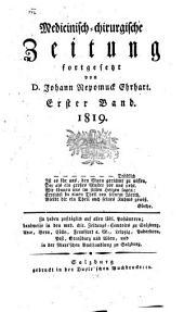 Medicinisch-chirurgische Zeitung: 1819, 1