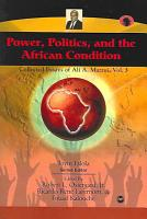 Power  Politics  and the African Condition PDF