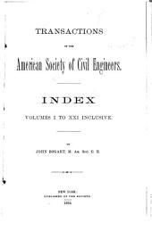 Transactions of the American Society of Civil Engineers: Volumes 1-34