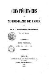 Conférences de Notre-Dame de Paris: Années 1844-1845-1846. Tome deuxième, Volume2