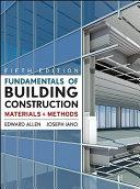 Fundamentals of Building Construction PDF
