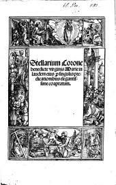 Stellarium Coronae benedicte Virginis Marie