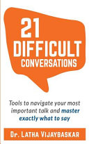 21 Difficult Conversations PDF