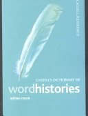 Cassell's Dictionary of Word Histories